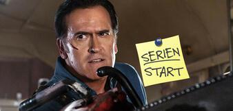 Bruce Campbell als Ash in Ash vs Evil Dead