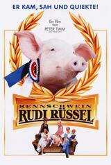 Rennschwein Rudi Rüssel - Poster