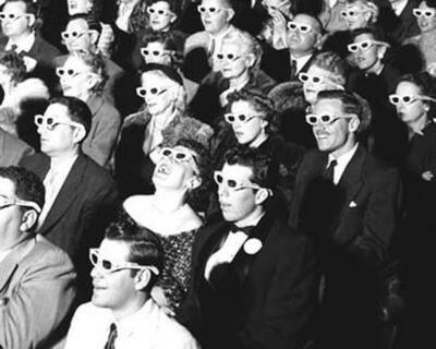 Zuschauer in den 1950ern
