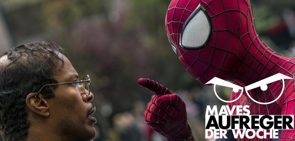 Das ist mir egal, ich bin Spider Man!