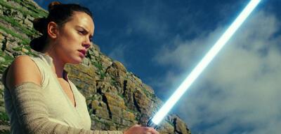 Daisy Ridley in Star Wars: Die letzten Jedi
