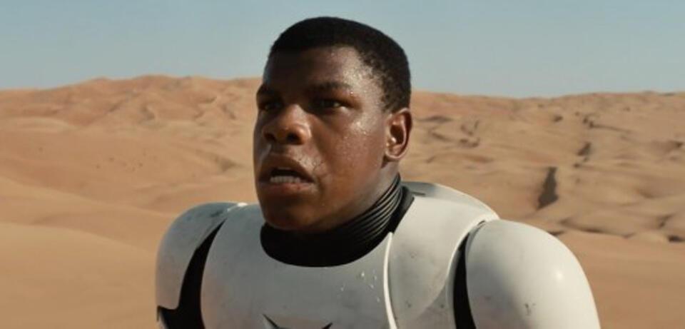 John Boyega in Star Wars: Episode VII: Das Erwachen der Macht