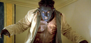 Alan Cumming als Nightcrawler in X-Men 2