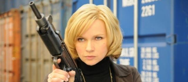 Veronica Ferres total gefährlich in Die Patin