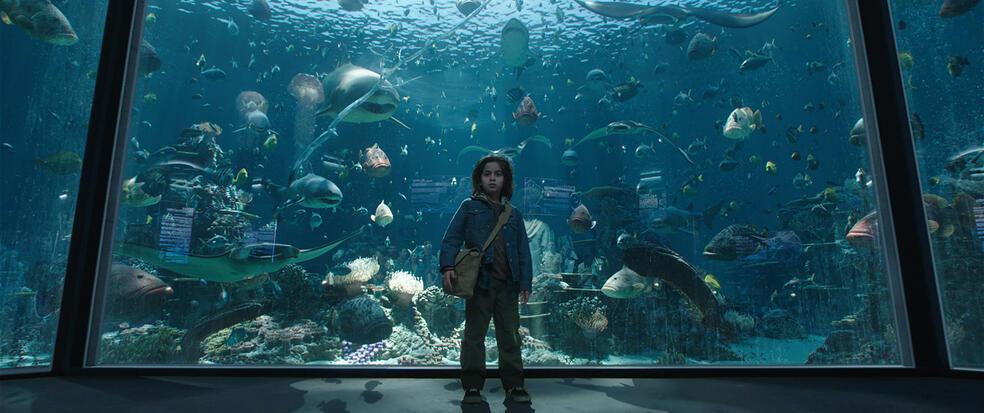 Aquaman mit Kaan Guldur