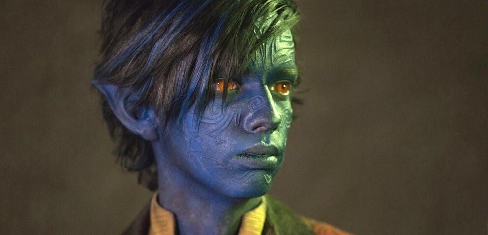 Kodi Smit-McPhee als Nightcrawler in X-Men: Apocalypse