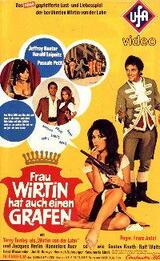 Frau Wirtin hat auch einen Grafen - Poster