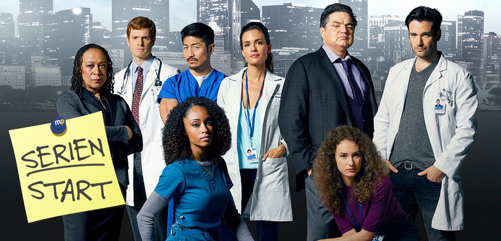 Der Main-Cast von Chicago Med