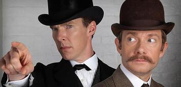 Bild zu:  Sherlock und Watson im Weihnachtsspecial