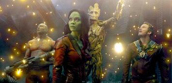 Bild zu:  Sonnen sich im Erfolg: Die Guardians of the Galaxy