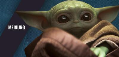 Baby Yoda in der Star Wars-Serie The Mandalorian
