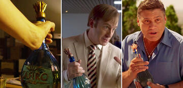 Tequila-Alarm in Better Call Saul und Breaking Bad