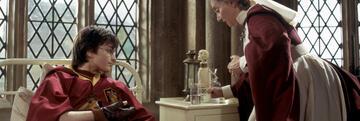 Harry Potter und der Feuerkelch: Im Krankenflügel mit Skele-Wachs