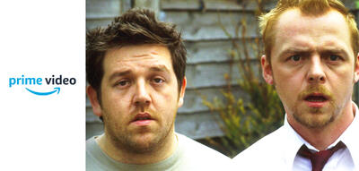 Nick Frost und Simon Pegg in Shaun of the Dead