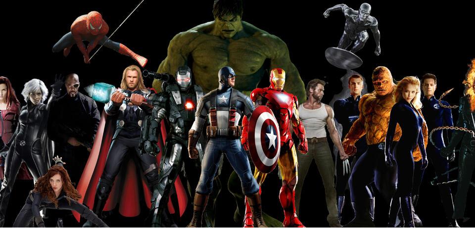 alle marvel superhelden