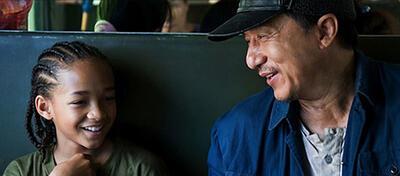 Jaden Smith & Jackie Chan