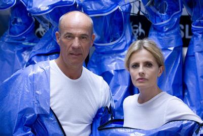 Heiner Lauterbach und Isabella Ferrari im Thriller Eisfieber.