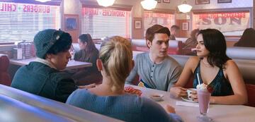 Archie, Vroni, Juggy und Betty