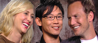 Vera Farmiga, James Wan & Patrick Wilson im Interview