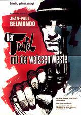 Der Teufel mit der weißen Weste - Poster