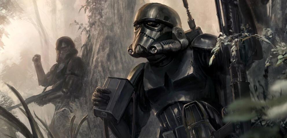 Konzeptzeichung zu Star Wars: Battlefront