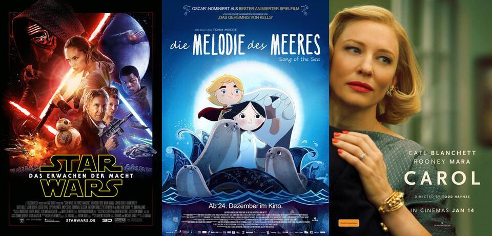 Top 25 der besten Filme Dezember 2015