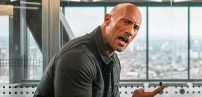 Dwayne Johnson in Fast & Furious: Hobbs and Shaw
