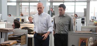 Michael Keaton und Mark Ruffalo