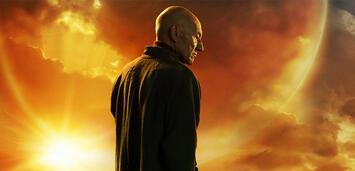 Bild zu:  Star Trek: Picard - Jonathan Frakes als Riker