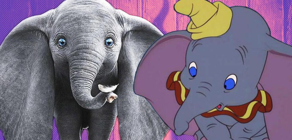 Dumbo - Remake und Original
