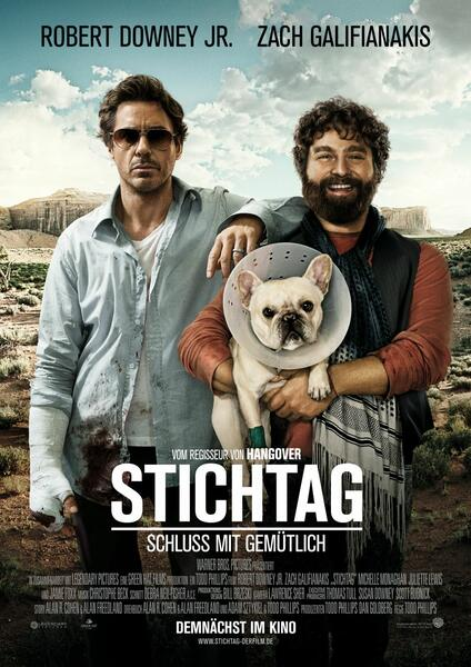 Stichtag mit Robert Downey Jr. und Zach Galifianakis