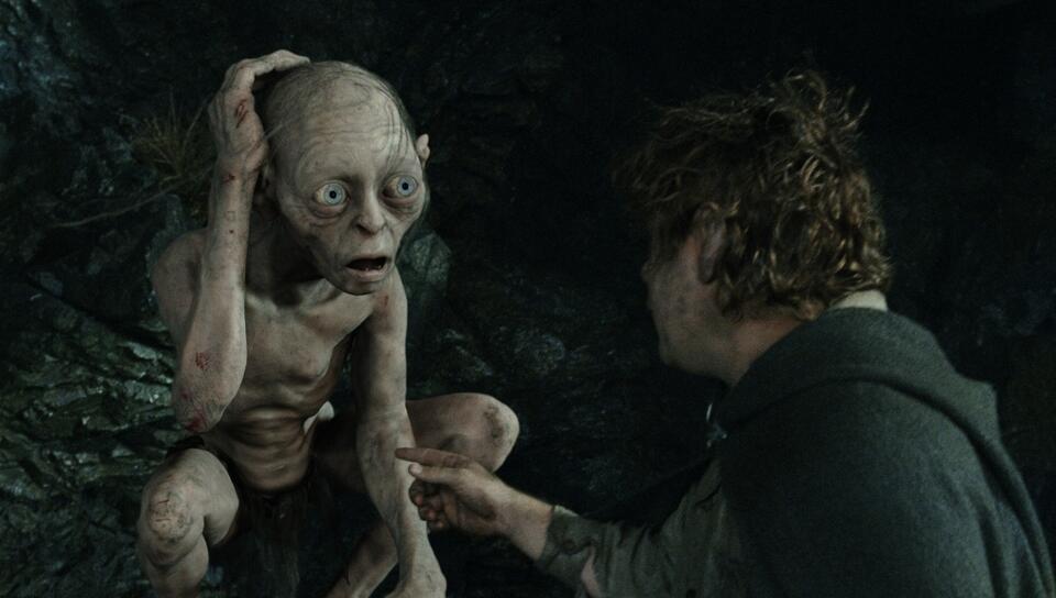 Der Herr der Ringe: Die Rückkehr des Königs mit Andy Serkis und Sean Astin