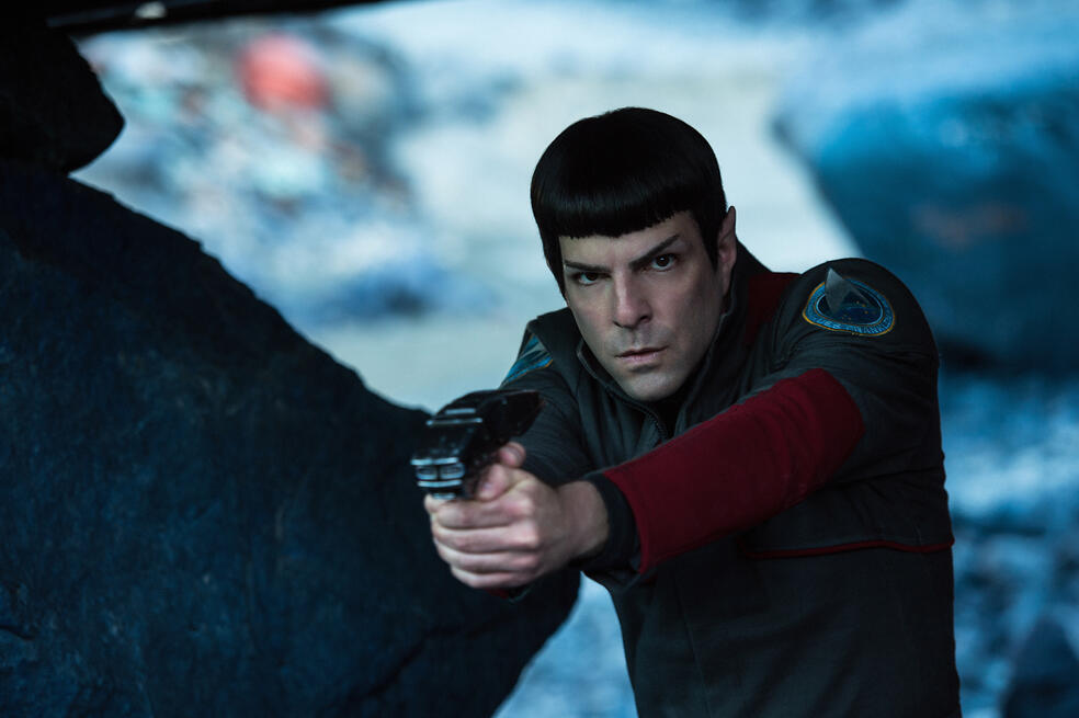Star Trek Beyond mit Zachary Quinto