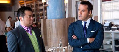Rex Lee und Jeremy Piven als Lloyd und Ari