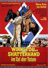 Winnetou und Shatterhand im Tal der Toten - Poster