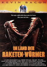 Im Land der Raketenwürmer - Poster