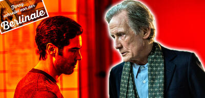 Tahar Rahim und Bill Nighy im Berlinale-Film The Kindness of Strangers