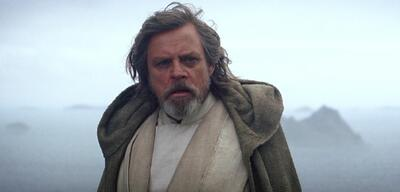 Mark Hamill als Luke Skywalker in Star Wars 7