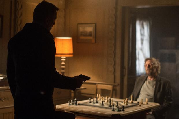 James Bond 007 - Spectre mit Daniel Craig und Jesper Christensen