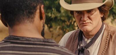 Quentin Tarantino in Django Unchained