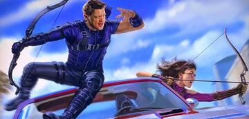 Hawkeye auf Disney+ (Key-Visual)