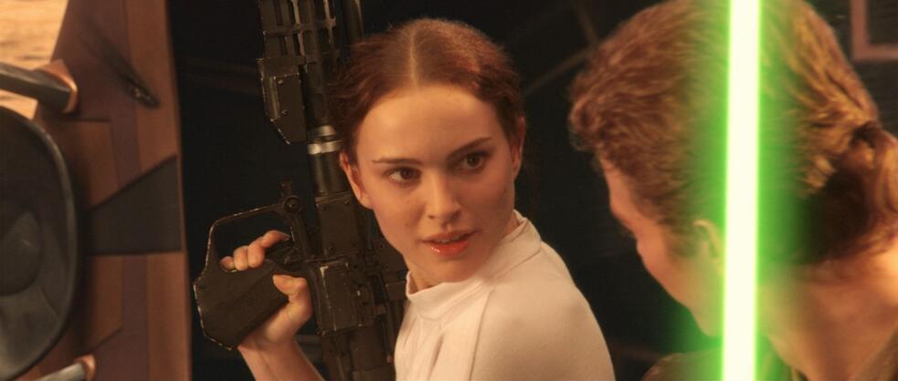 Star Wars: Episode II - Angriff der Klonkrieger mit Natalie Portman und Hayden Christensen