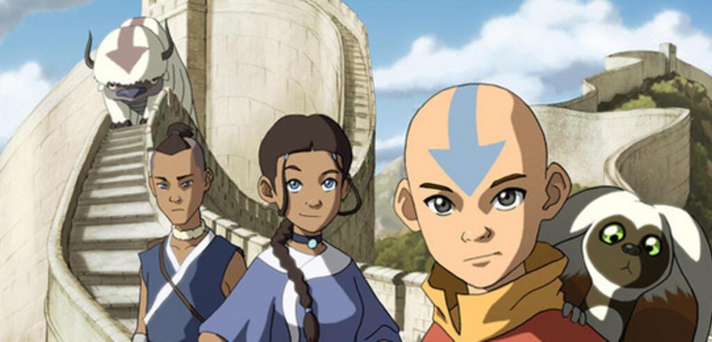 Avatar Aang und seine Freunde