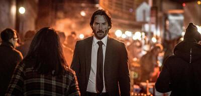 Keanu Reeves in John Wick: Kapitel 2