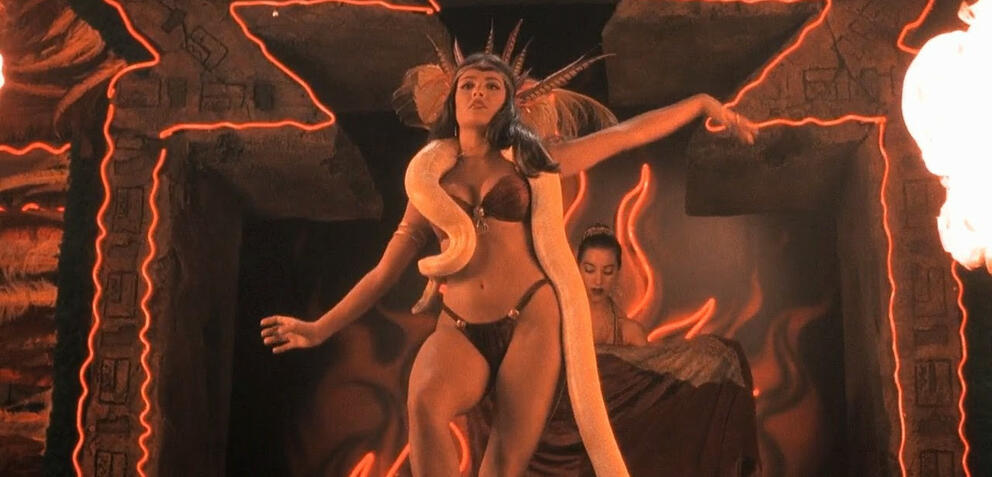 Salma Hayek in From Dusk Till Dawn