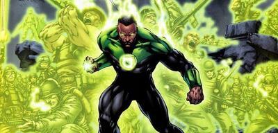 John Stewart als Green Lantern