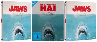 Der weisse Hai auf DVD & Blu-ray
