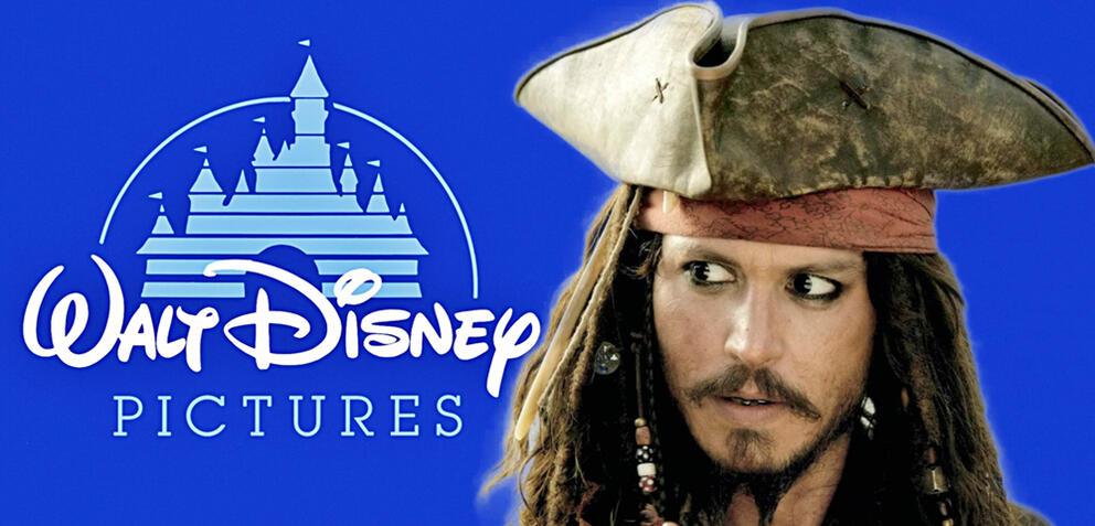 Johnny Depp als Jack Sparrow in Fluch der Karibik