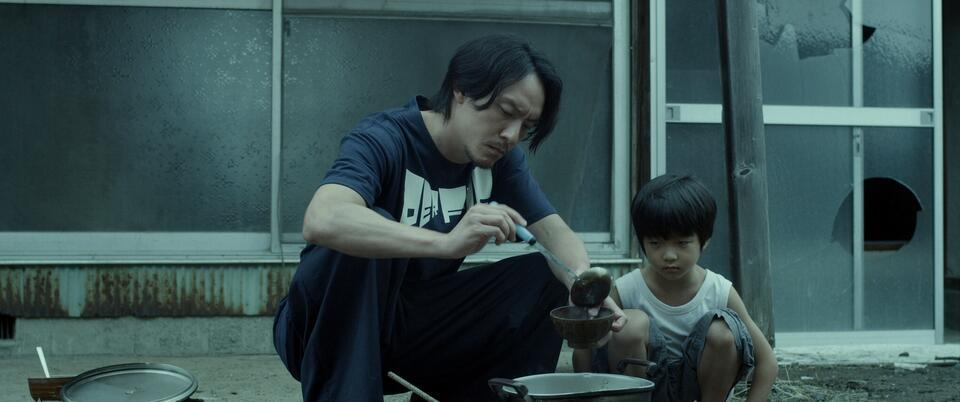 Mr. Long mit Chen Chang und Run-yin Bai