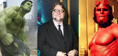 Hulk/Guillermo del Toro/Hellboy